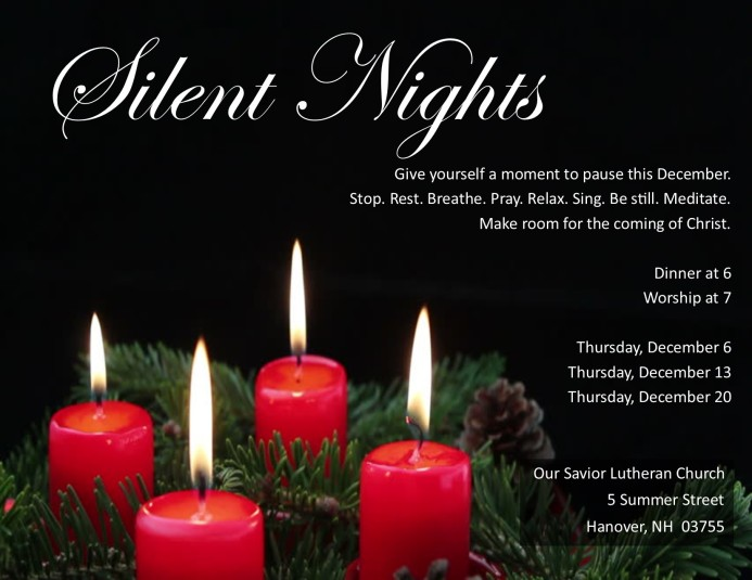 Silent Nights Poster