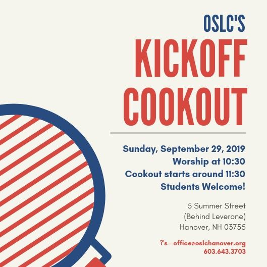 Kickoff Cookout
