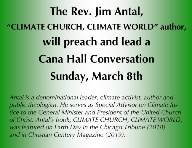 Jim Antal Preach CHC March 8